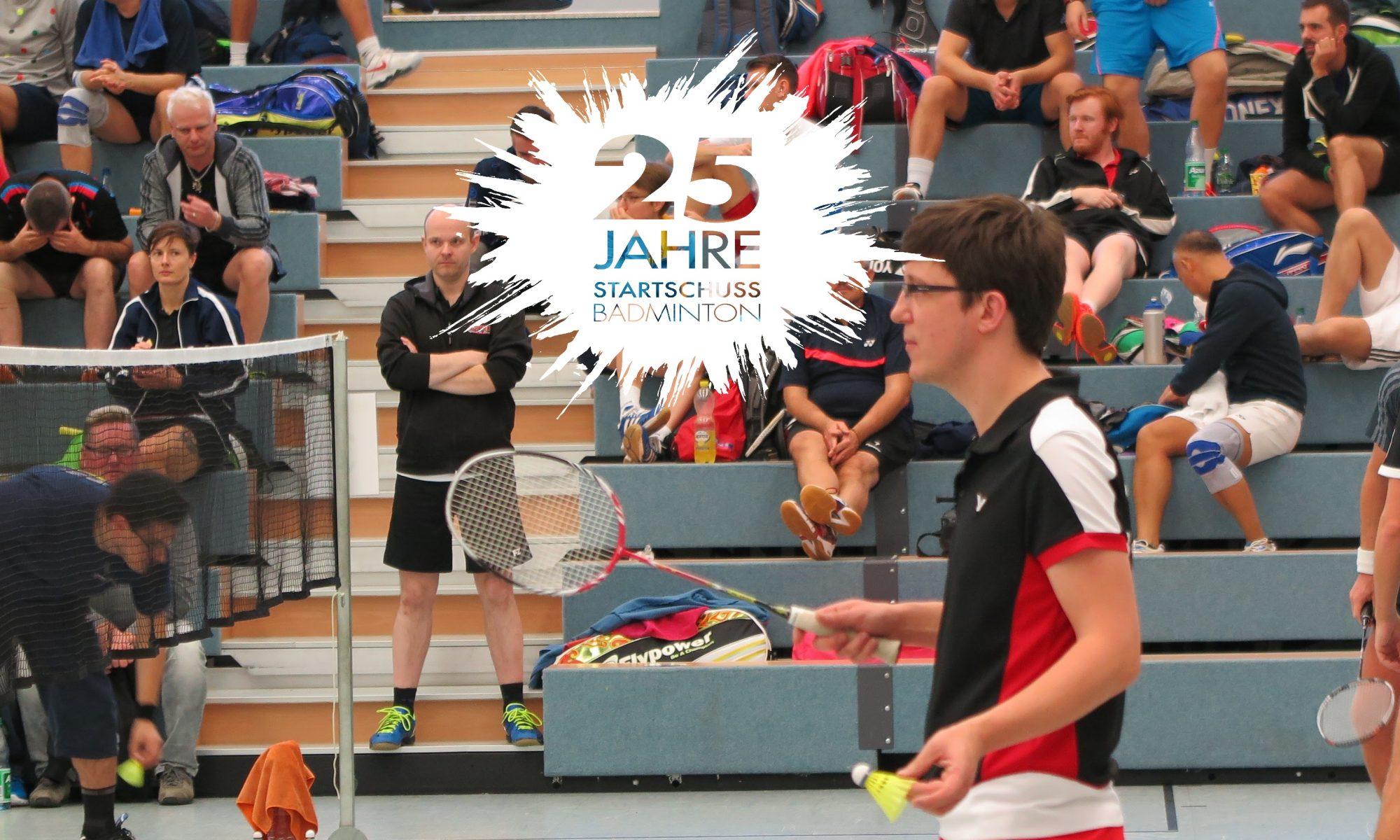 Startschuss-Badminton